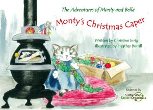 Monty's Christmas Caper - Cover